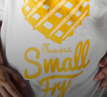 Chick-fil-A Small Fry Baby Onesie