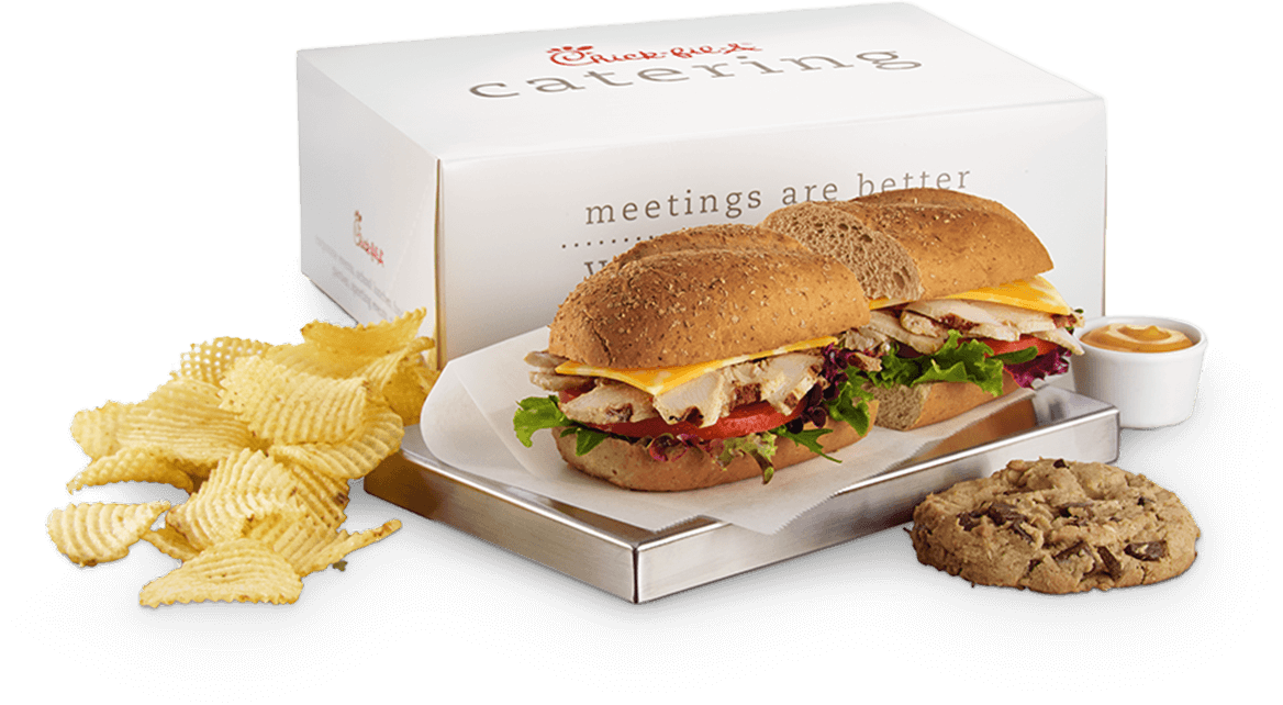 Chilled Grilled Chicken Sub Packaged Meal Chick Fil A