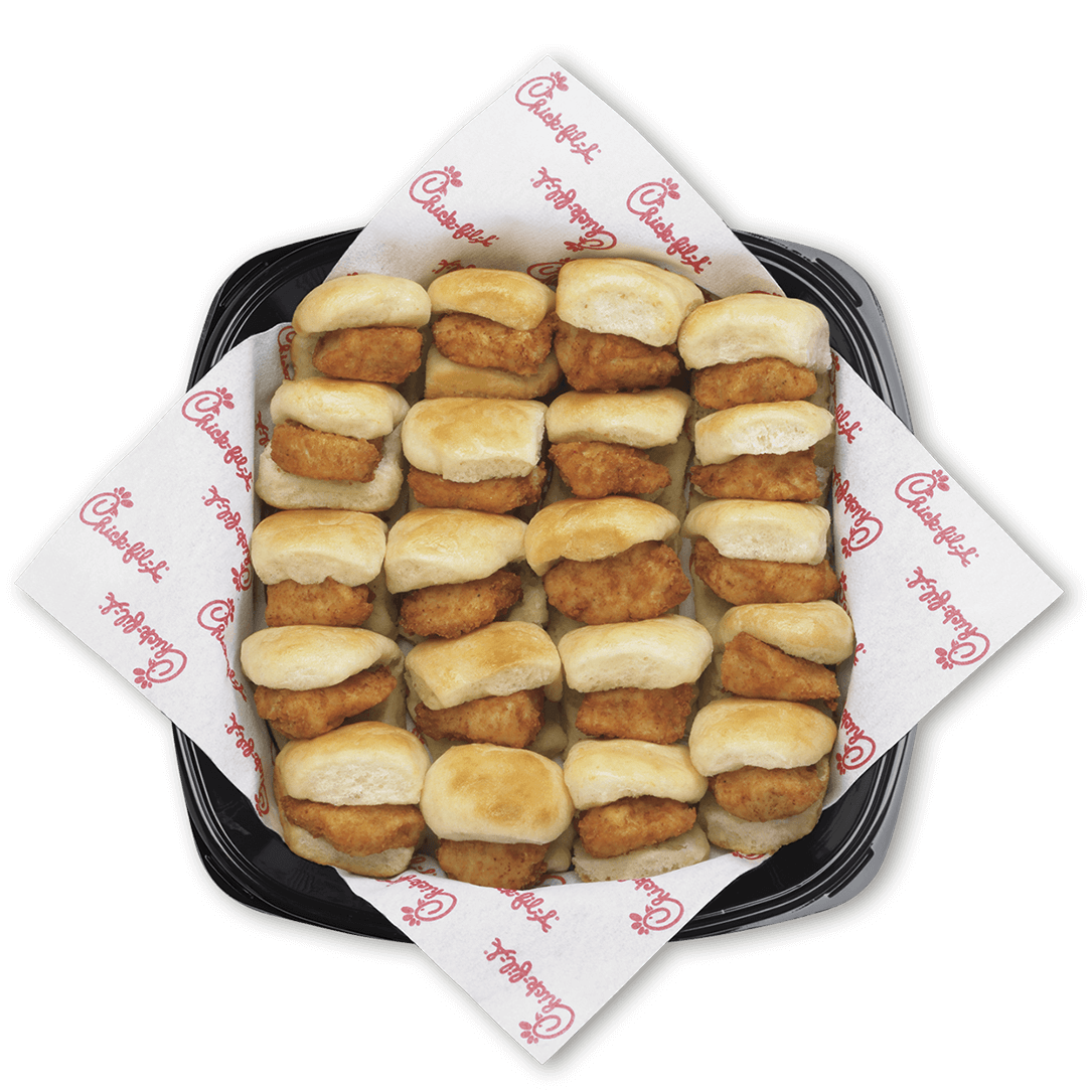 Chick-fil-A Catering's latest prices and the entire menu. Try different chicken sandwiches at Chick-fil-A Catering. Find your favorite now.