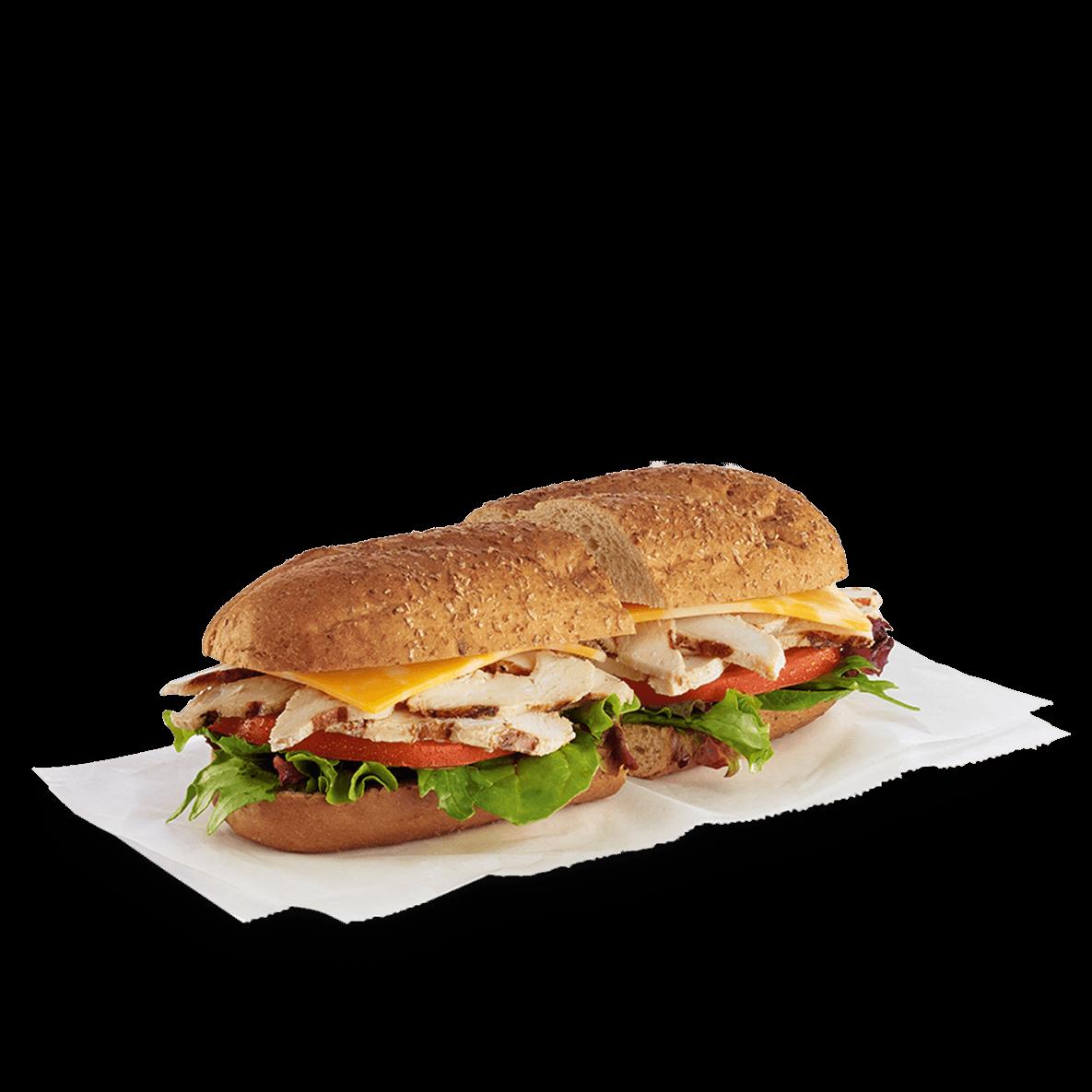 chilled grilled chicken sub sandwich chickfila